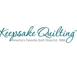 KeepsakeQuilting Coupons